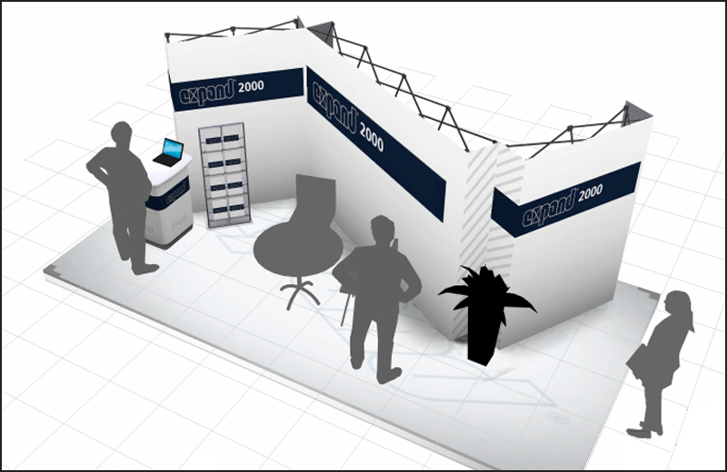 Exhibition Booth Icon : Visual impact systems helps sisco with branding and trade