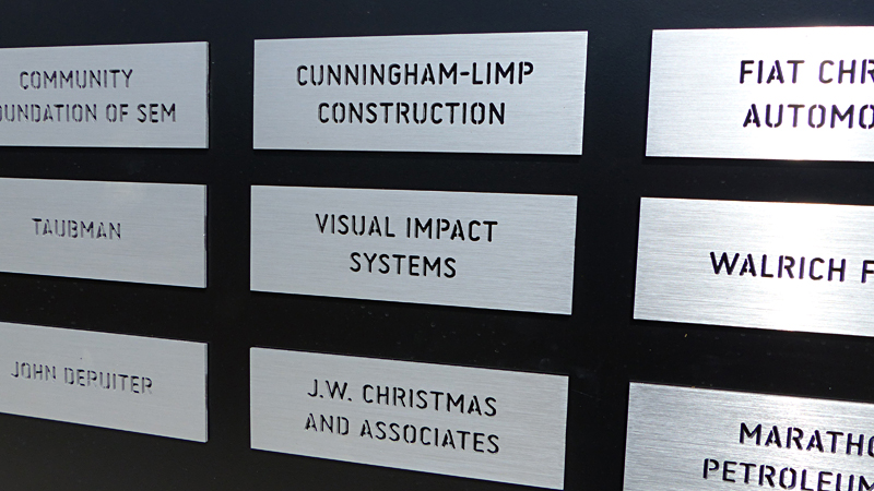 Skinner Park - Pavilion - Sign - Visual Impact Systems