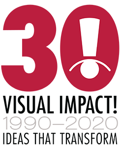 Visual Impact Systems - 30th Anniversary Logo